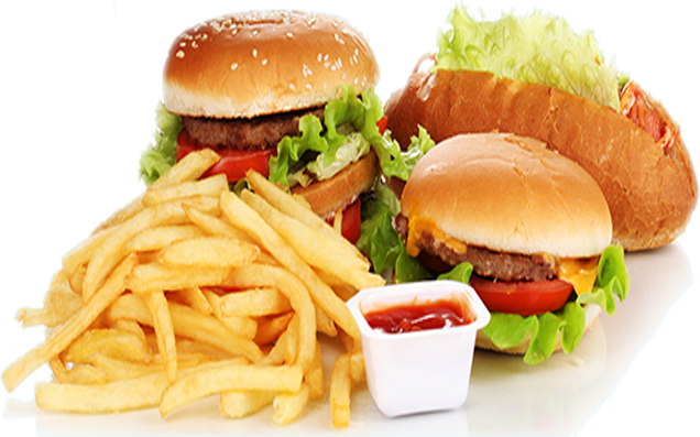 fast food banner png