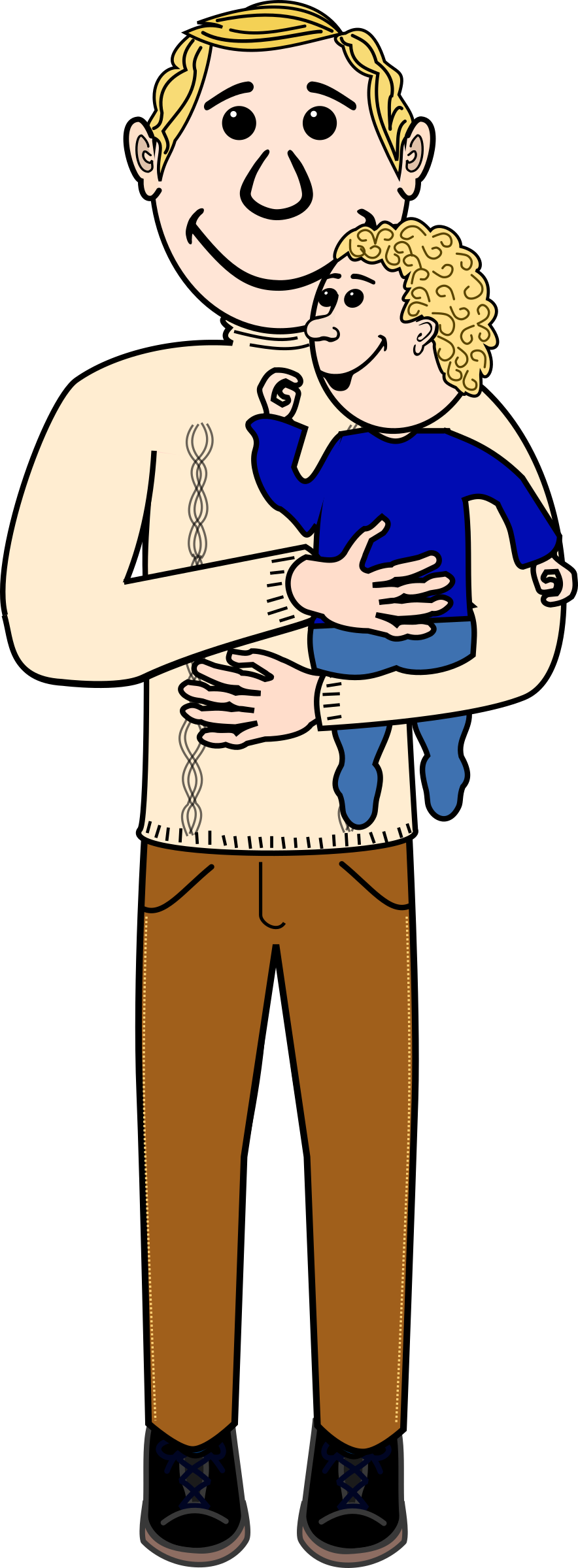 Father And Child Png image #42630