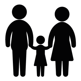 Father Mother And Daughter PNG image #42633