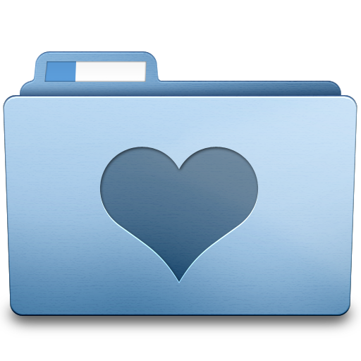 Favorites Folder Heart Icon Png image #12300