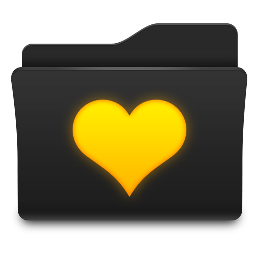 Favorites Folder Love Icon Png image #12301