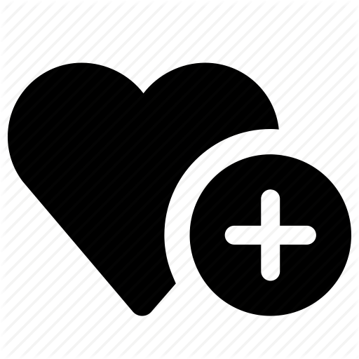 Favorites Love, Plus Icon Png image #12302