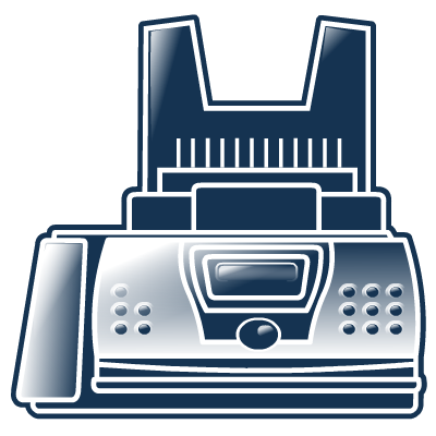 Icon Png Fax image #4911