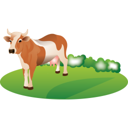 Feeding cattle Icon