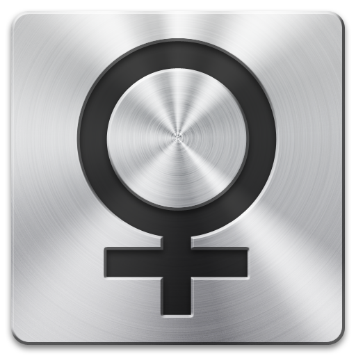 Female Gender Symbol Icon image #7887