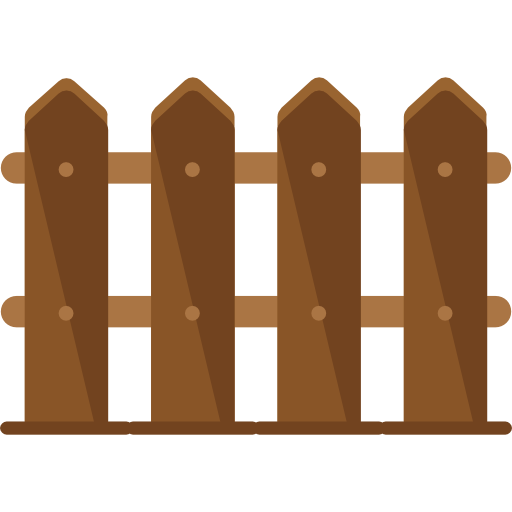 Fence, Garden, Gardening, Gate, Wood Icon image #38442