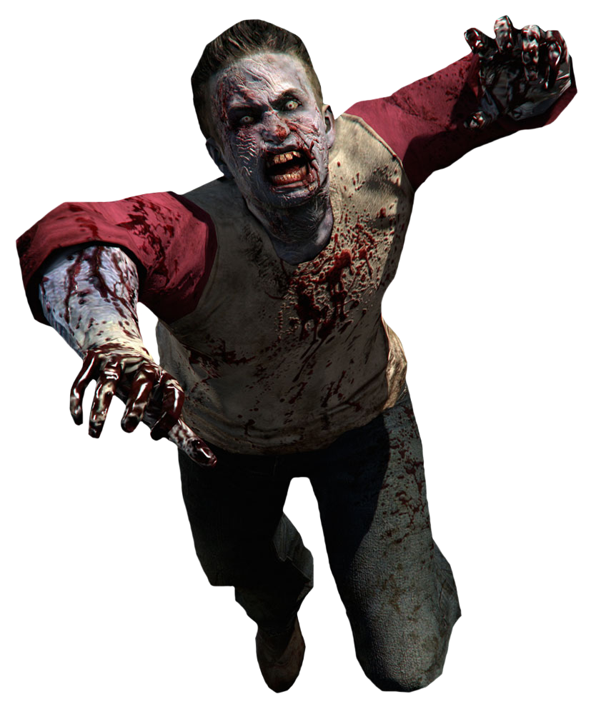 Fictional Character Zombie, Clip Art image #48817