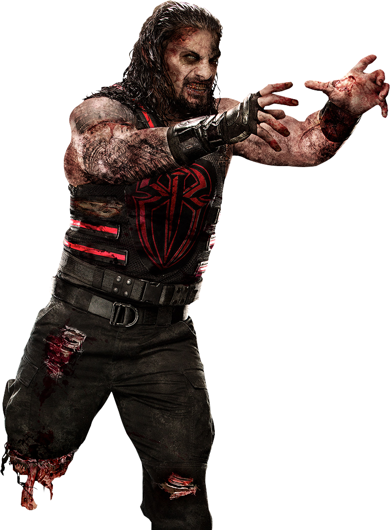 Fictional Character Zombie Roman Reigns John Cena PNG Picture image #48821