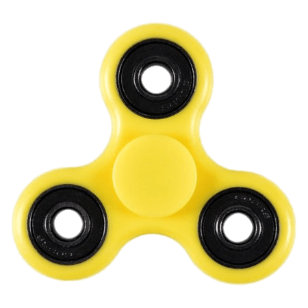 Fidget Spinner Yellow Black Natural Photo image #48319