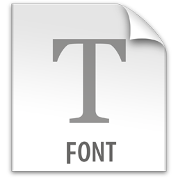 File Fonts Icon image #35269