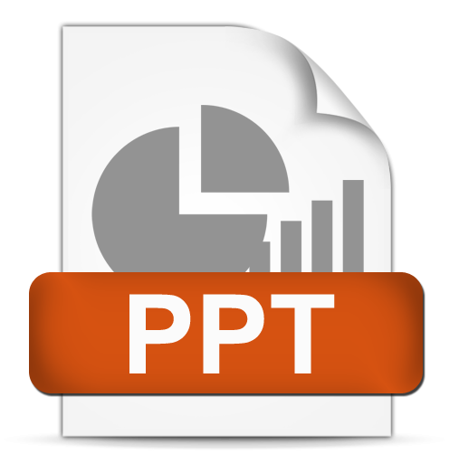 File Format Ppt Icon, PNG ClipArt Image image #43940