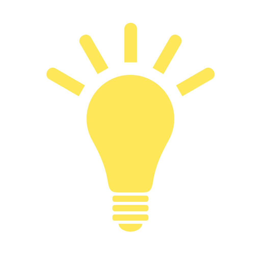 File:Light Bulb (yellow) Icon.svg image #820