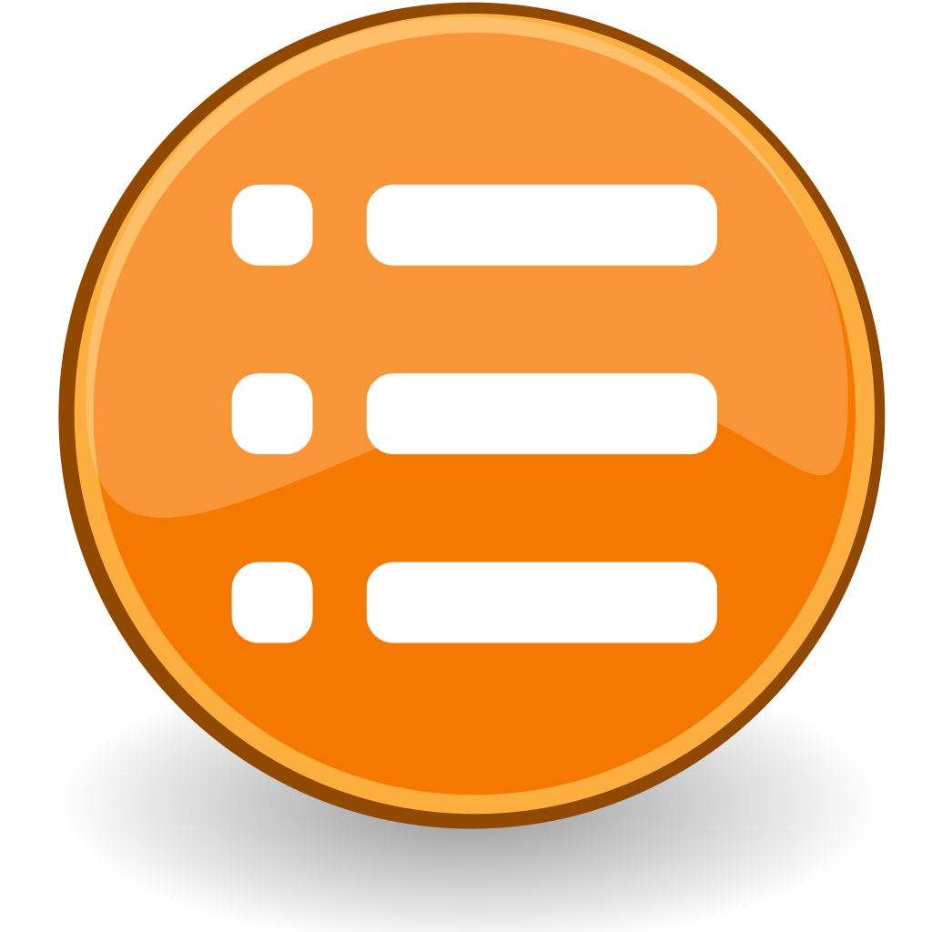 File:List Icon.svg image #1437
