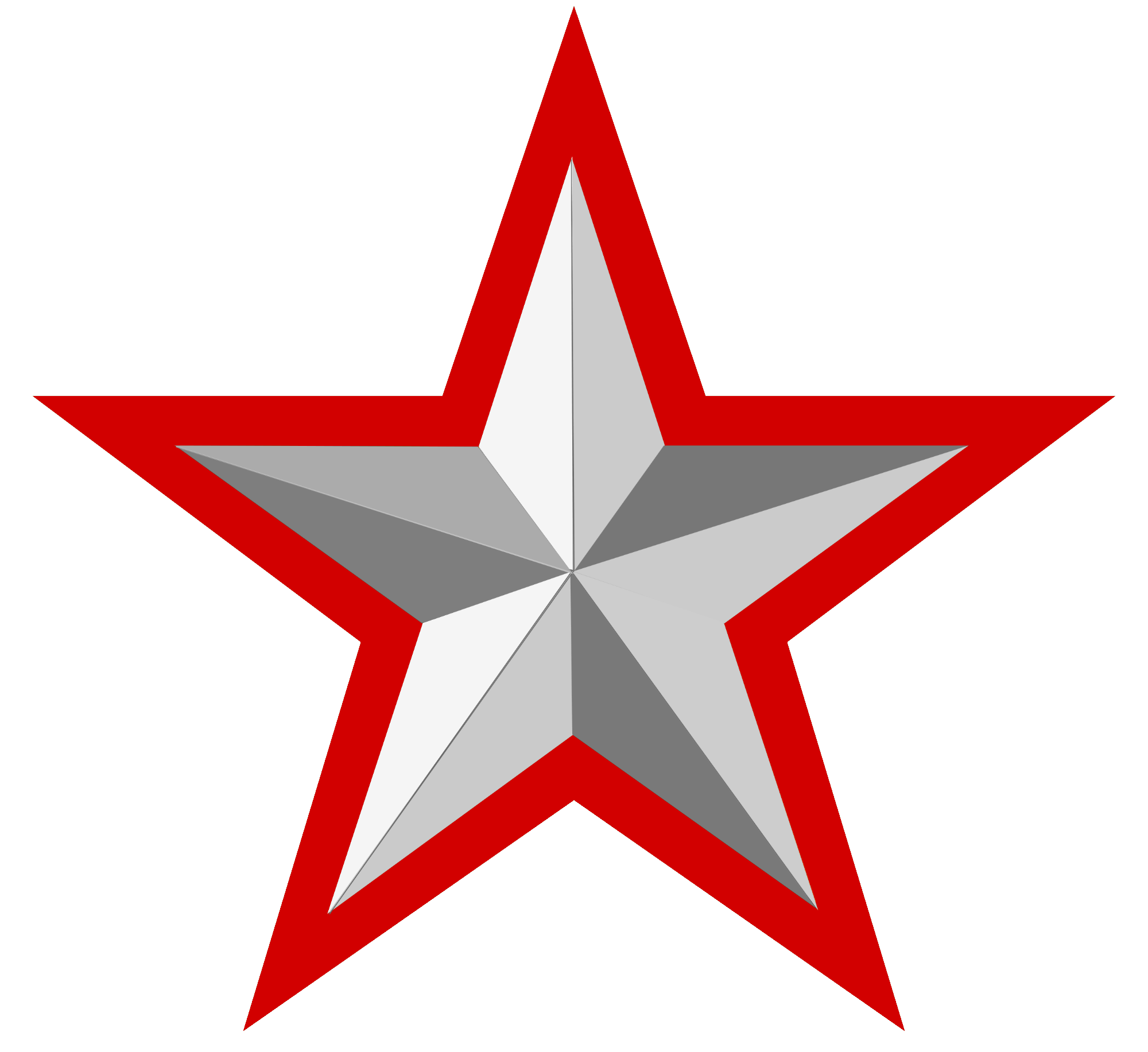 File:Silver Star With Red Border   Wikimedia Commons image #636