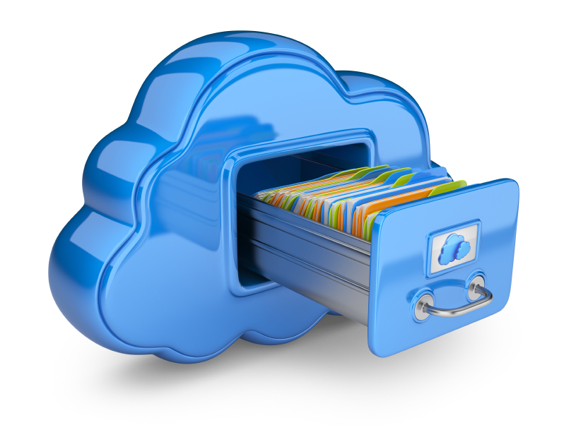 File Storage In Cloud 3D image #6661