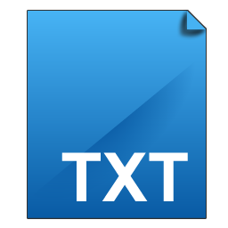 File TXT Icon  DeepSea Blue Icons  SoftIconsm