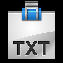 File TXT Icon  ToyFactory Icons  SoftIconsm
