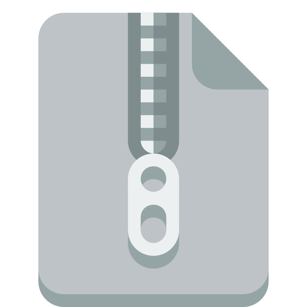 File Zip Icon, Transparent File Zip.PNG Images & Vector ...