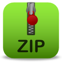 File Zip Vector Icon image #6830