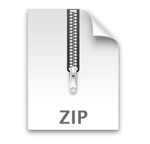 File Zip Download Icon
