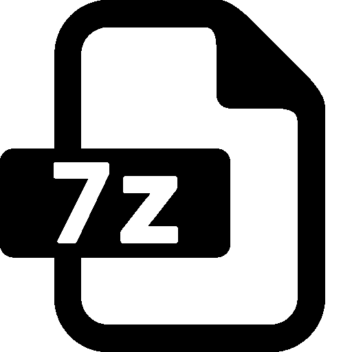 File Zip Vector Icon