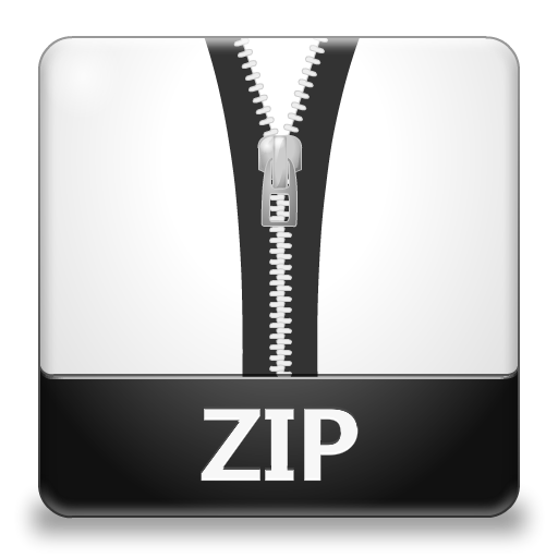File Zip Size Icon