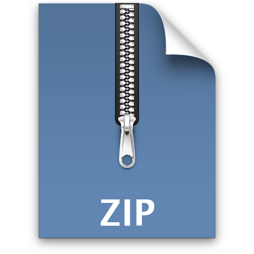 File Zip Save Icon Format image #6844