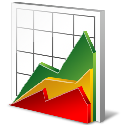financial analysis, financial report, graph, sales, statistics icon