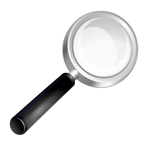 Find, Glass, Magnifying, Search, Zoom Icon image #38321