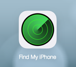 Library Find My Iphone Icon