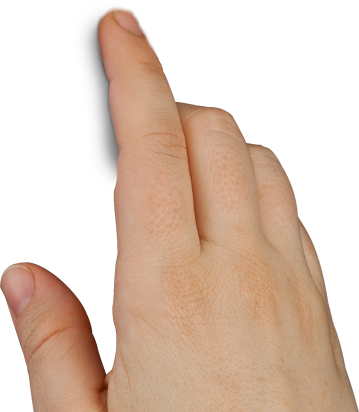 Finger Touch Png image #43088