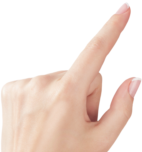 Finger Touch Png Transparent Image image #43090