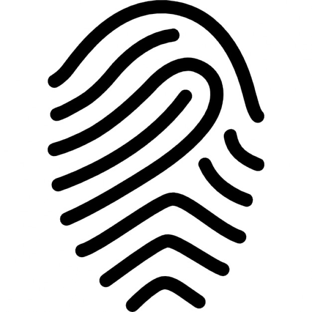 Fingerprint 2 Icon | Line Iconset | IconsMind