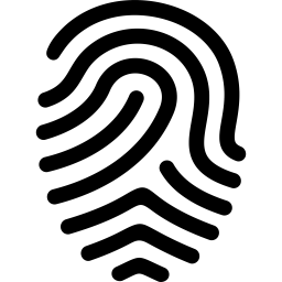 Fingerprints Save Icon Format image #5893