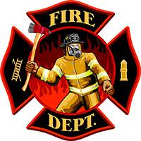 Fire Department Png Icon Download 200x200, Fire Department HD PNG Download