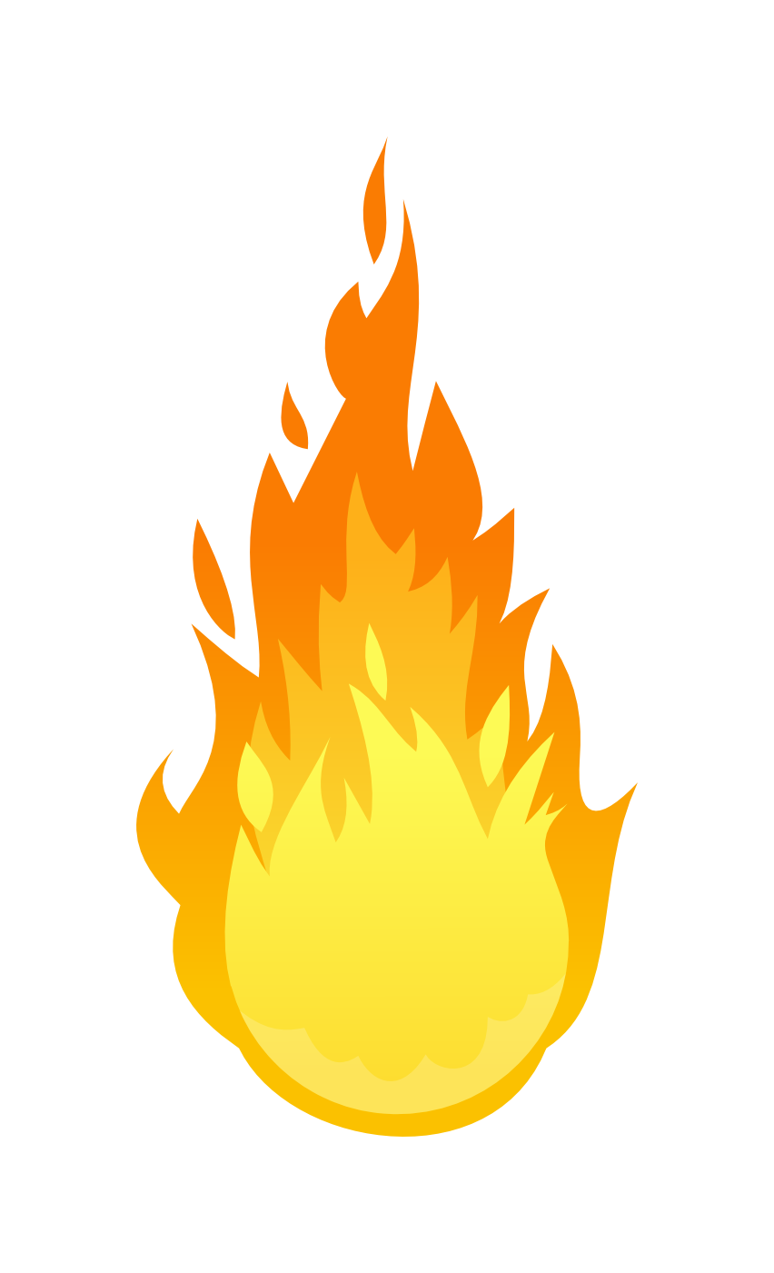 Fire Flame Png Images & Pictures  Becuo