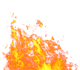FiRE FLames PNG image #4857