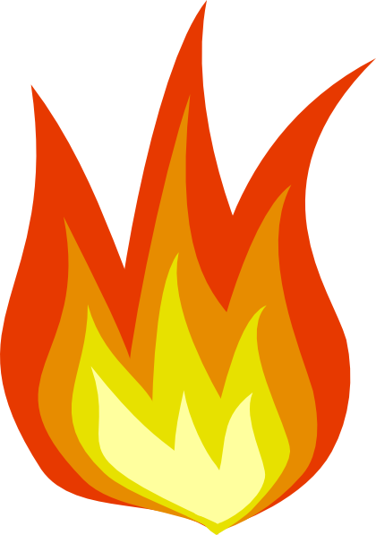 Fire Icon Clip Art Photo image #44298