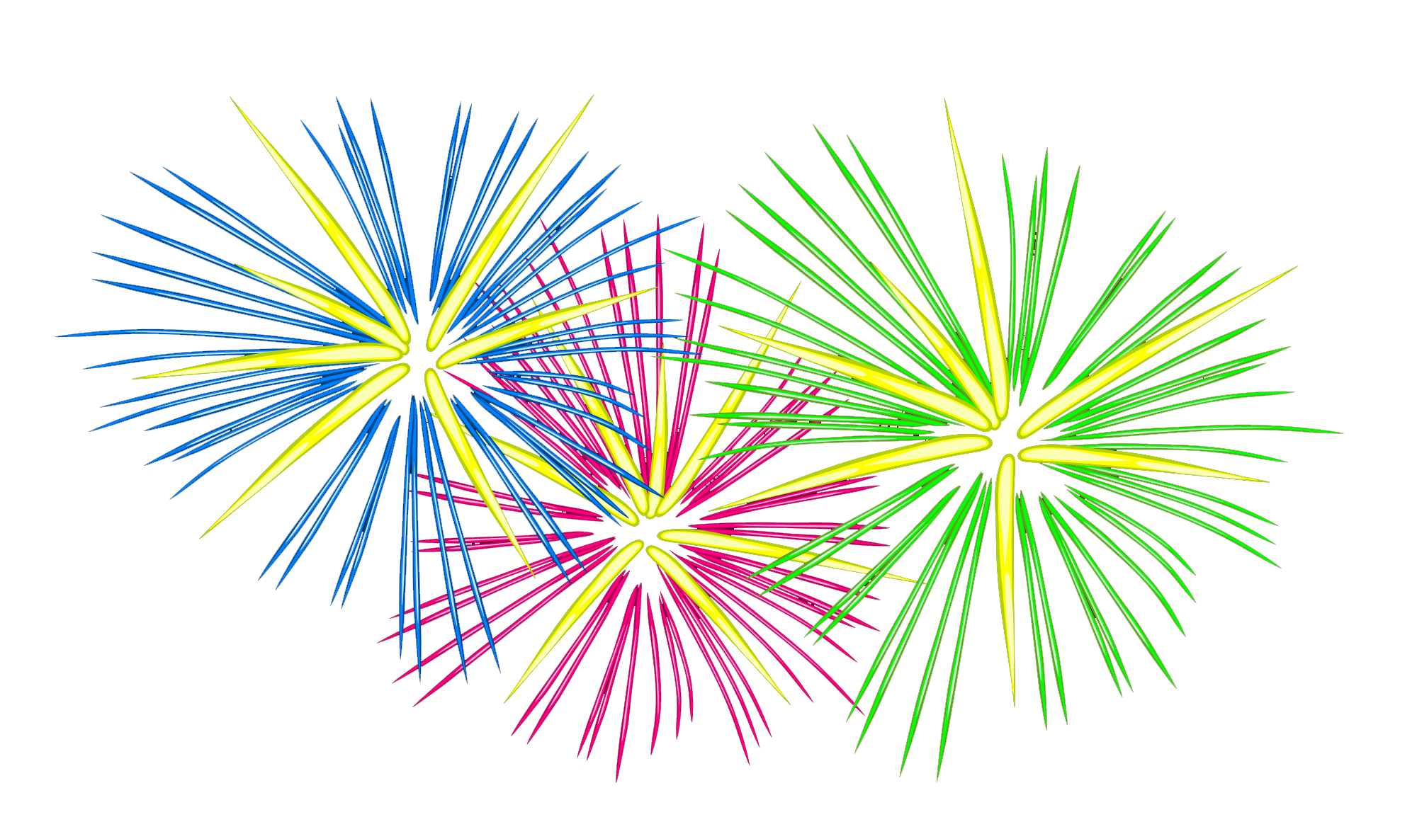 PNG Fireworks Photo image #30593