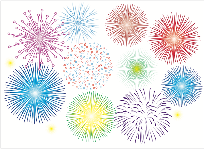 Download Free High-quality Fireworks Png Transparent Images image #30618