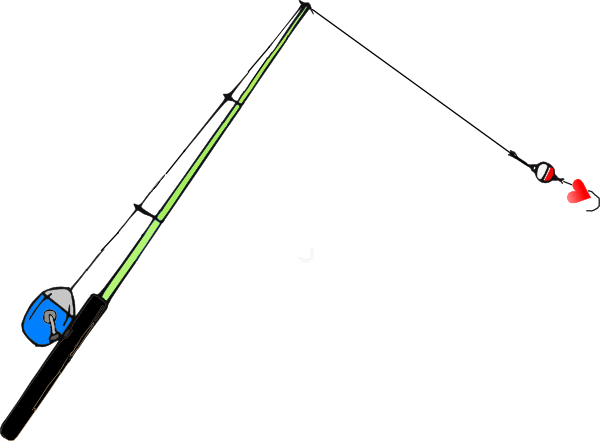Fishing Pole PNG Transparent Clip art