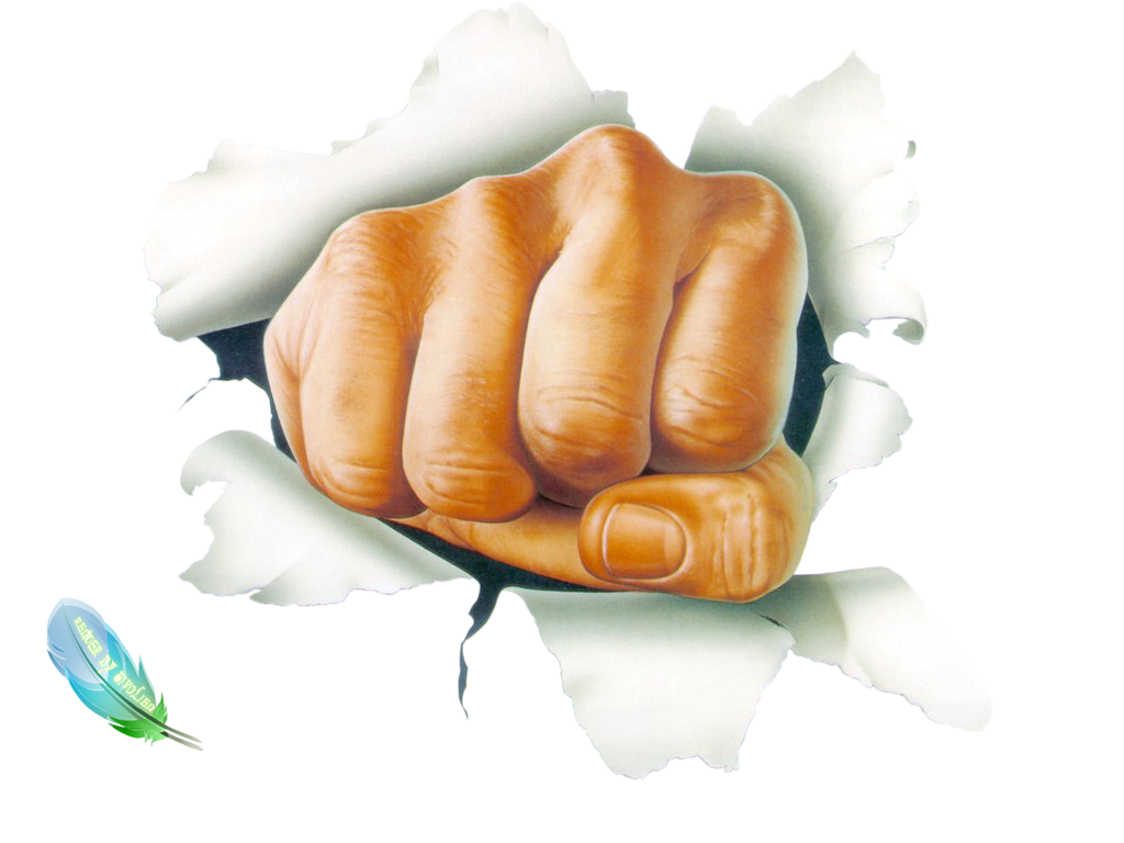 Png Download Clipart Fist image #32935