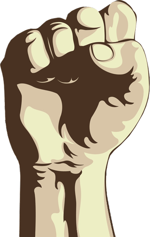 Transparent Background Fist image #32939
