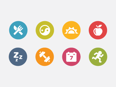 Fitness Icons By Scott Dunlap   Dribbble image #265