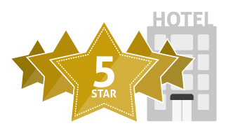 Five, 5 Star Hotel Icon image #39798