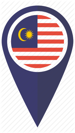 Flag, Location, Malaysia, Malaysian, Map, Pin, Pointer Icon | Icon   image #41847