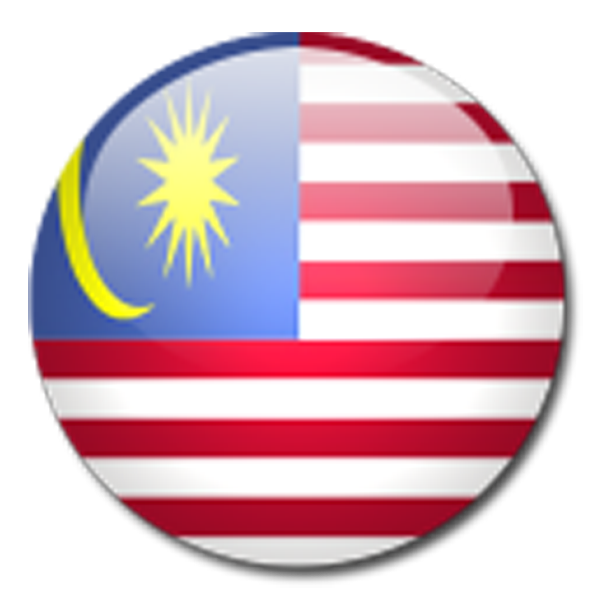 flag of malaysia nation in graphics