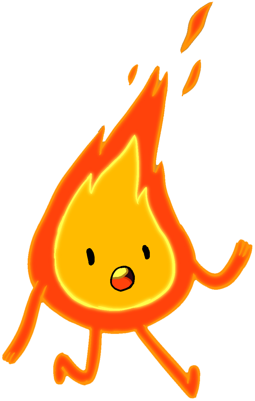 Flame Person png