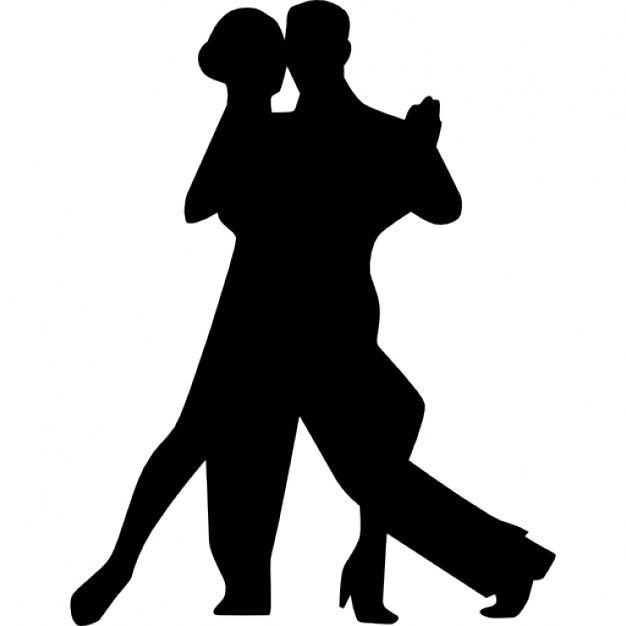 Flamenco Couple Dancing download dancing silhouette PNG images