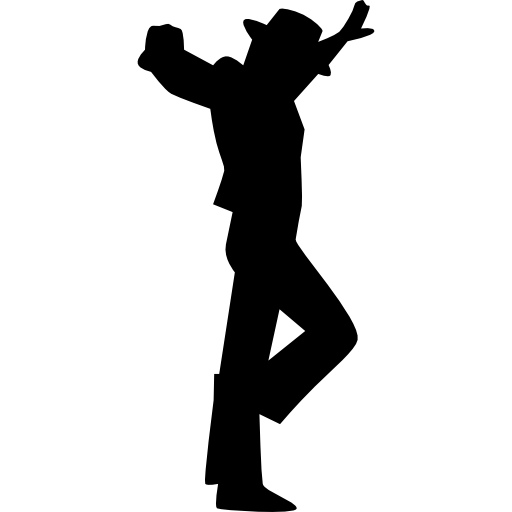 Flamenco Male Dancing download dancing silhouette PNG images